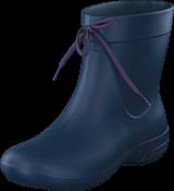 Crocs - Crocs Freesail Shorty RainBoot Navy