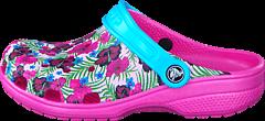 Crocs - Classic Graphic Clog K Multi-Color Pink