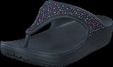 Crocs - Crocs Sloane Embellished Flip Black/Multi