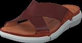 Clarks - Trisand Cross Dark Tan Leather