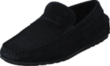 Hugo - Hugo Boss - Dandy Moccassin Suede Dark Blue