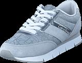 Calvin Klein Jeans - Tea Metallic Jacquard/ Suede Light Silver/ Light Silver