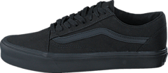 Vans - UA Old Skool Lite (Canvas) Black/Black