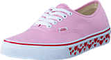 Vans - UA Authentic pink lady/red