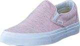 Vans - UA Classic Slip-On pink/true white