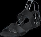 Pieces - Pslindsay Leather Sandal Black