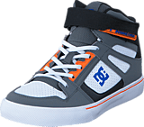 DC Shoes - Dc Kids Spartan High Ev B Shoe Grey/Blue/White