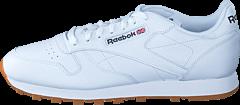 Reebok Classic - CL Lthr Int-White/Gum