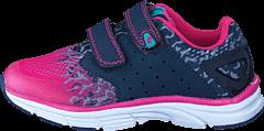Leaf - Vara Navy/Pink