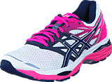Asics - Gel Cumulus 18 White/Indigo Blue/Hot Pink