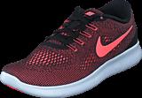 Nike - Wmns Free Run Black/Lava Glow-Off White