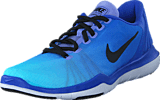 Nike - W Flex Supreme Tr 5 Fade Medium Blue/Black-Still Blue