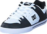 DC Shoes - Pure Black/White/Black