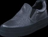 A Pair - Shiny Classic Slip On Antracite laminato /balck sole