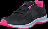 Reebok - Express Runner Black/Poison Pink/Pewter/White