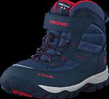Viking - Sludd El/Vel GTX Navy/Red