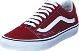Vans - UA Old Skool Madder Brown/True White
