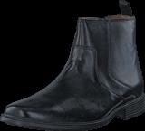 Clarks - Tilden Zip Black Leather