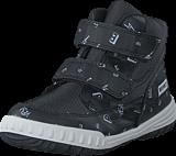 Esprit - Hiker Velcro Black