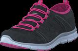 Polecat - 435-2311 Comfort Sock Black/Fuchsia