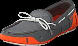 Swims - Stride Lace Loafer Orange/Gray/White Fleck
