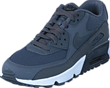 Nike - Air Max 90 Mesh Bg Dk Grey/dk Grey-black-white