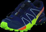 Salomon - Speedcross 4 GTX® Medieval Blue/Acid Lime/Graph