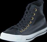Converse - All Star Leather Hi Black/Egret