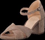 Bianco - Front Cross Sandal Nougat