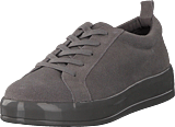 Bianco - Laced Up Suede Sneaker Grey