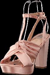 Bianco - Satin Strap Sandal Powder