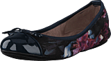 Butterfly Twists - Olivia Navy Blurred Floral