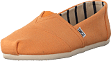 Toms - Alpargata Orange Mist Heritage Canvas