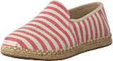 Toms - Deconstructed Alpargata Rope Red Woven Stripe