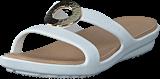 Crocs - Sanrah Hammered Met Sandal W Platiunum