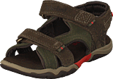 Timberland - Park Hopper L/f 2-strap Sandal Canteen Suede