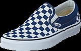 Vans - Ua Classic Slip-on Checker  Blue/white