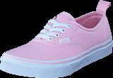 Vans - Uy Authentic Elastic Lace Chalk Pink/true White