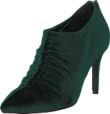 Sofie Schnoor - Shoe Stiletto Velvet Dark Green