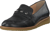 Angulus - Loafer With Chain Black
